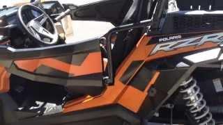 1. 2014 Polaris XP1000 orange