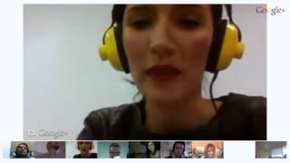 Google+ Hangouts On Air con personajes del entretenimiento en Colombia