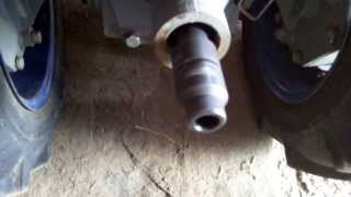 Центровка карданчика фрезы Моторсича
