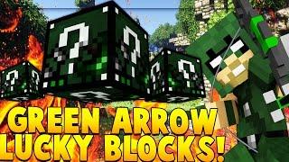 GREEN ARROW SUPERHERO LUCKY BLOCK MOD CHALLENGE (SUPERMAN METROPOLIS) | Minecraft - Lucky Block Mod