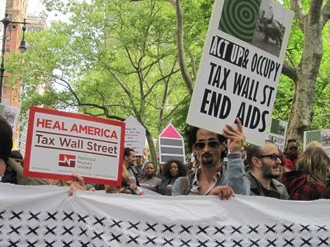 Occupy Wall Street ACTS UP!