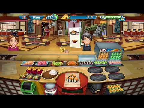Cooking Fever Sushi Restaurant Tutorial