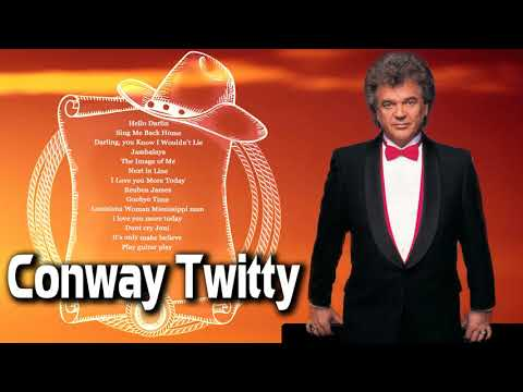 Conway Twitty Greatest Hits Playlist - Best Songs Of Conway Twitty Country Classic Love Songs
