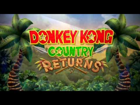 Donkey Kong Country Returns - Rocket Barrel 2