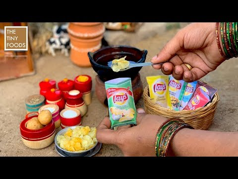 Homemade Potato Chips | Lays Chips Recipe | Potato Chips Recipe | Crunchy Instant Hot Wafers | Aloo