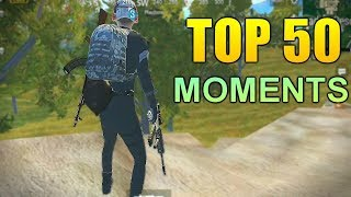 Video TOP 50 PUBG MOBILE  FUNNY EPIC FAIL & WTF MOMENTS MP3, 3GP, MP4, WEBM, AVI, FLV September 2019