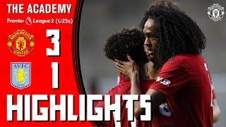 Download Lagu The Academy | Under-23s | Manchester United 3-1 Aston Villa | Highlights Mp3
