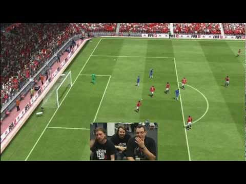 FIFA 13 - GAMEPLAY Chelsea vs ManU - Gronkh, SarazarLP und Hans Sarpei vs. CK Video