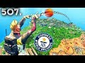WORLD RECORD BASKETBALL THROW??! Fortnite Daily Best Moments Ep507 Fortnite Battle Royale Funny