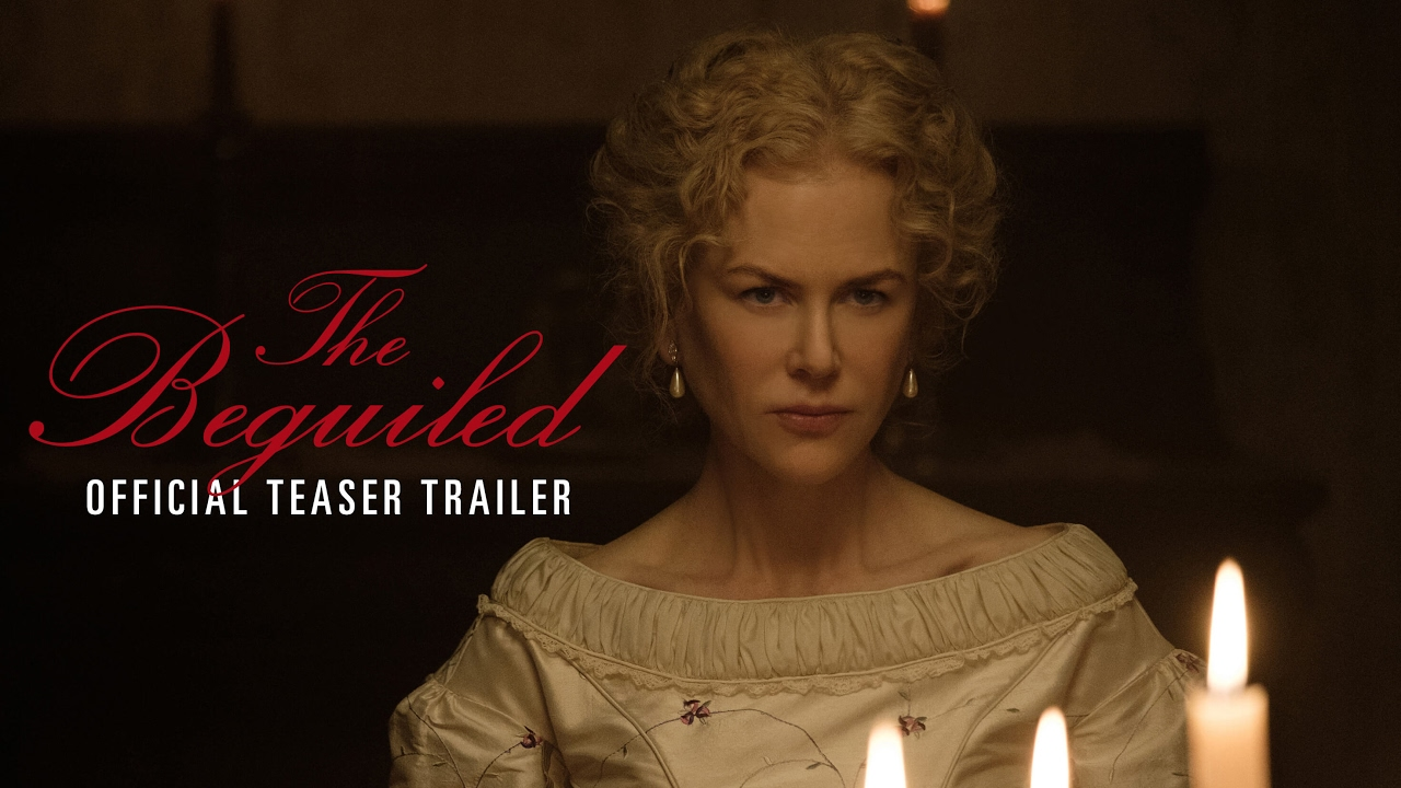 Colin Farrell & Nicole Kidman in Sofia Coppola's Seductive Thriller 'The Beguiled' (Trailer) with Kirsten Dunst & Elle Fanning