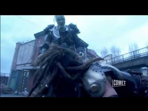 Stargate Atlantis - Ronon Fights An Über-Wraith (3-4)
