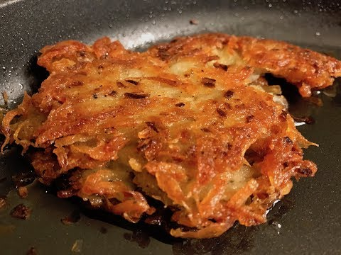 ASMR Potato Latkes - You Suck At Cooking (episode 61)