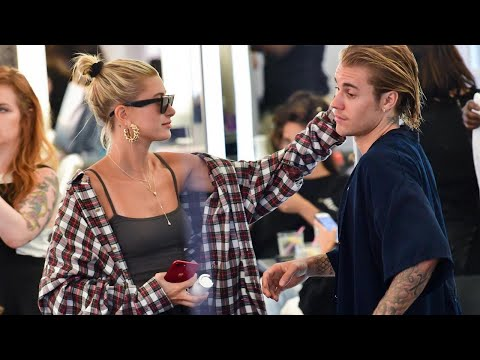 Justin Bieber Gets a Haircut With Hailey Baldwin Following Tearful Outing Together