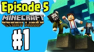 "Minecraft: Story Mode - EPISODE 5 ""ORDER UP"" Walkthrough Gameplay (Part 1)"