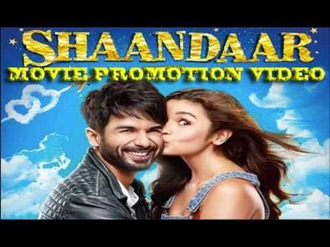 Shaandaar 2015 Promotion Events Full Video | Shahid Kapoor & Alia Bhatt | Directed By Vikas Bahl