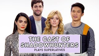Shadowhunters Cast Reveals Who Might Secretly be a Shadowhunter and More | Superlatives by Seventeen Magazine