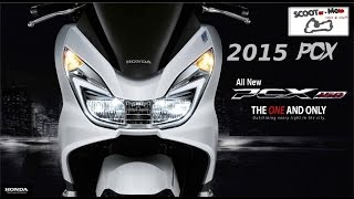 8. NEW 2015 HONDA PCX 150i ESP presentation and studio details