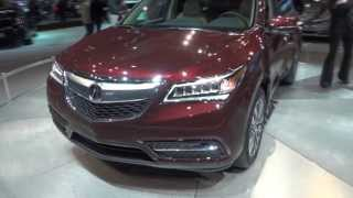 2014 Acura MDX SH-AWD 3.5 Walkaround, Overview