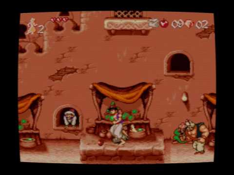 Aladdin 2 (Sega Genesis) - Unlicensed game