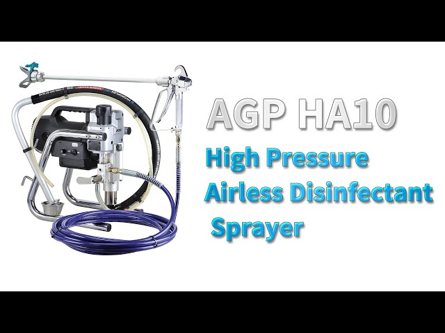 HA10 High Pressure Airless Disinfectant Sprayer