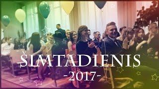 """Vilniaus """"Laisvės"""" gimnazijos Šimtadienio akimirkos. Renginys vyko 2017 vasario 24."""