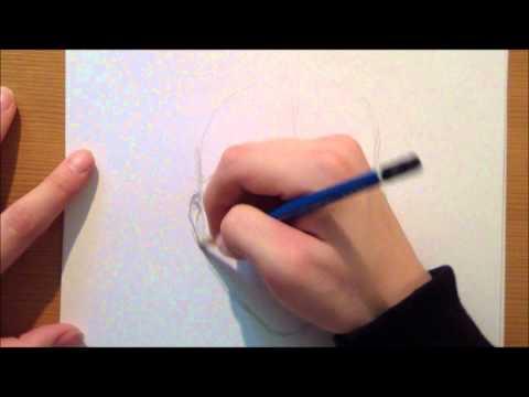 Manga Gesicht zeichnen lernen mit dem Krawatten Chameleon
