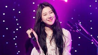 190216 백예린(Yerin Baek) - Sara smile (COVER) [롤링홀24주년] 4K 직캠 by 비몽
