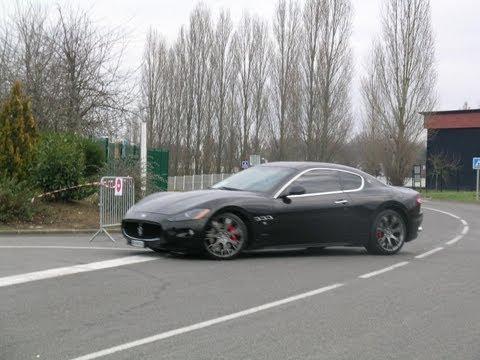 Maserati Granturismo - Ride, sound, acceleration видео