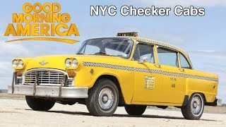 The Last Checker Cabs Featured on Good Morning America in 1994