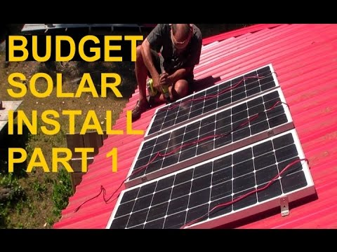 Simple Solar Installation Part 1