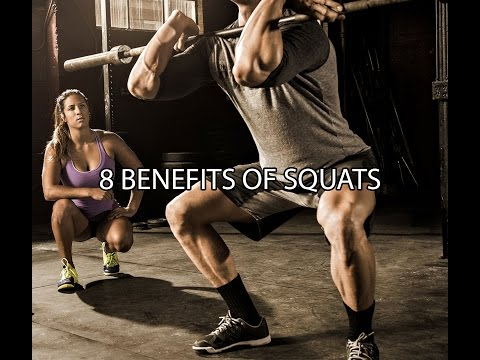 8 BENEFITS OF SQUATS