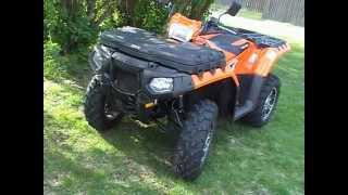 10. '12 Polaris Sportsman 850 Limited Editions Walk-Around