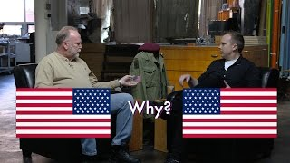 An interview I did with my father about why the American is worn backwards and why it's important.