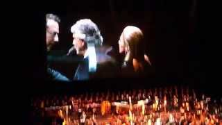 Andrea Bocelli & Delta Goodrem LIVE - Only Fools Rush In - Vector Arena, Auckland (11 Sep 2014) [2]