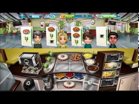 Cooking Fever: Bakery Levels 37-40