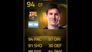 FIFA 14 TOTY RONALDO 98 Player Review&In Game Stats Ultimate Team