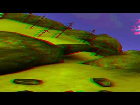 Best Anaglyph 3D Roller Coaster VIDEO 3D RED CYAN Full HD 1080p