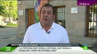 Robledo De Chavela Spain  city photo : Mario de la Fuente, alcalde de Robledo de Chavela: