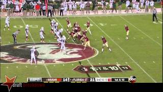 Cameron Erving vs Miami (2013)