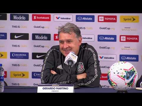 Conferencia de Prensa: Gerardo Martino - Gold Cup Final 2019