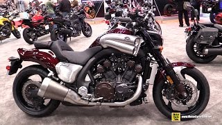 8. 2015 Yamaha V-Max - Walkaround - 2014 New York Motorcycle Show