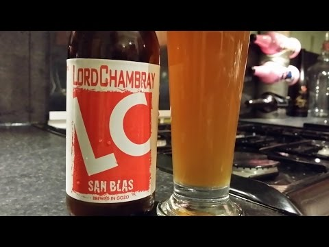 Lord Chambray San Blas English IPA