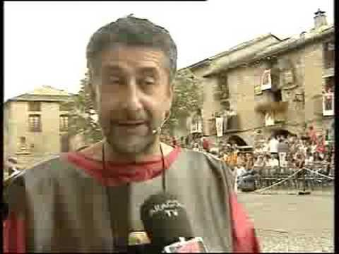 LA MORISMA AINSA 2008. Noticia en Aragón Tv