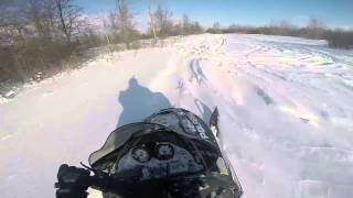 5. out for a rip on my 05 polaris 700 xc sp