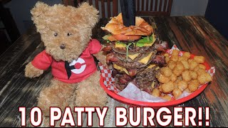 Louisville (KY) United States  City new picture : 10 Patty Bacon Cheeseburger Challenge in Louisville!!