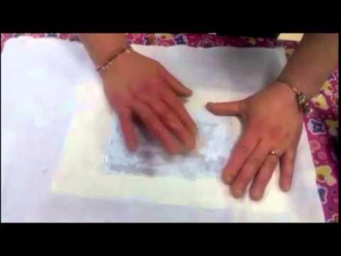 trasferimento immagine su stoffa - tutorial