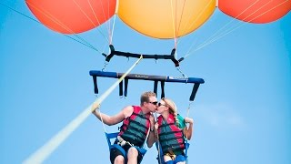 Baga India  City new picture : Parasailing In Goa, Baga Beach, India, water sports GoPro video By- Amit Kumar (Ginni)