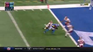 Matthew Stanford finds Anquan Bolden for an 18 yard game winning touchdownI do not own this clip