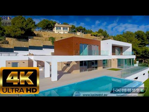 2175000€ Новая элитная вилла с видом на море в Испании/ПРЕМИУМ/Хай-тек/Hi-Tech/Кальпе/Коста Бланка