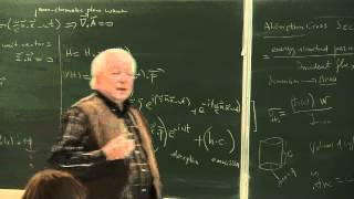 METU - Quantum Mechanics II - Week 6 - Lecture 1
